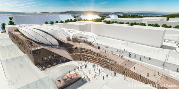 Partner beim Bau des Deutschen Pavillons für die Expo in Mailand
