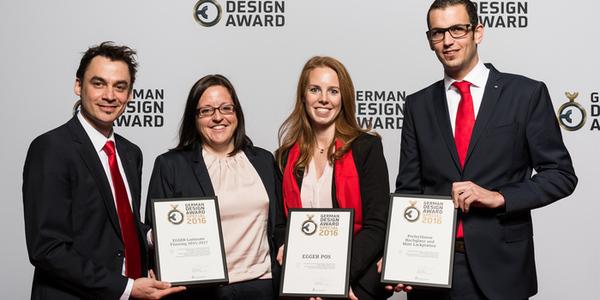 Dreifach ausgezeichnet beim German Design Award