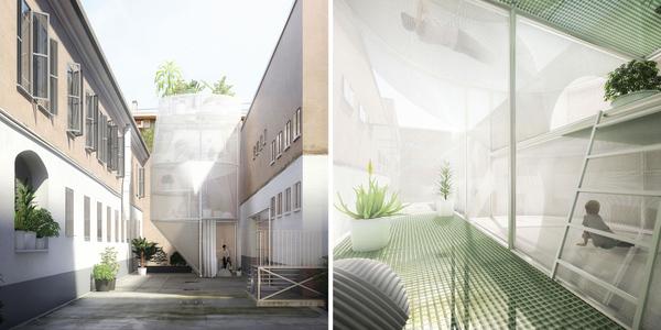 Anlässlich des diesjährigen Salone del Mobile in Mailand zeigt Mini in Kooperation mit den New Yorker Architekten von SO-IL die Installation 'Mini Living – Breathe'. Sie ist eine zukunftsweisende Interpretation von ressourcenbewusstem Zusammenleben auf kleinstem Raum in der Stadt.