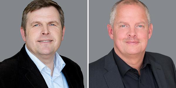 John Vestergaard (l.) und Lars Filthaut von Project Floors.