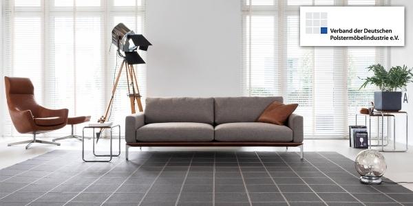 Im März wurden mehr Polstermöbel - hier 'Spirit' von den Bielefelder Werkstätten - verkauft als zur selben Zeit im Vorjahr.