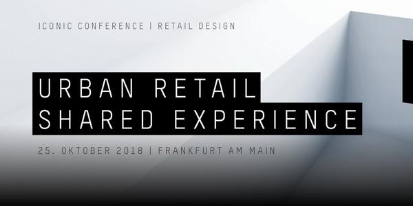 """Am 25. Oktober wird das Deutsche Filmmuseum in Frankfurt erneut zum Treffpunkt der Retail-Branche. Das Thema der jährlich stattfindenden Iconic Conference des Rat für Formgebung lautet """"Urban Retail – Shared Experience"""" und fokussiert Gestaltungsmöglichkeiten, die den Einkauf zu einem gemeinschaftlichen Erlebnis machen?."""